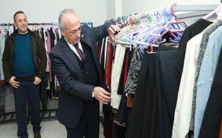 Atatürk Üniversitesinde  Giy-Çık Atölyesi Açıldı