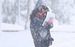 Erzurum'da okullar tipi nedeniyle tatil edildi