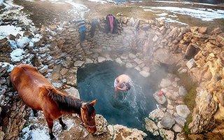Çat'taki Hamzan kaplıcası keşfedilmeyi bekliyor!