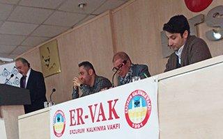 ERVAK Erdal Güzel ile 'devam' dedi