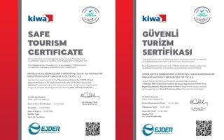 Palandöken'e 'Güvenli Turizm' Sertifikası