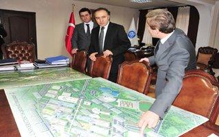 Erzurum Valisi Erzincan Üniversitesinde