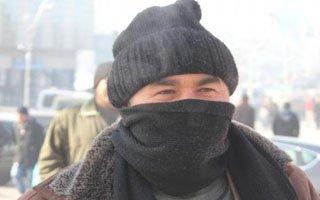 Erzurum'da dondurucu soğuklar etkili