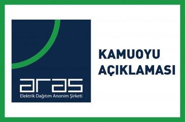 ARAS EDAŞ'tan Karsspor açıklaması