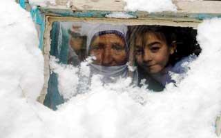 Doğu'da kar yağışı ve soğuk hava etkili