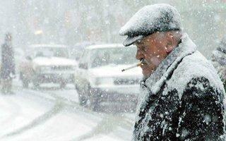 Meteoroloji'den Erzurum İçin Kar Uyarısı