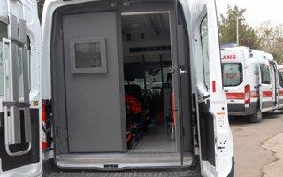 Dünyada İlk! Zırhlı Ambulanslar Göreve Başladı