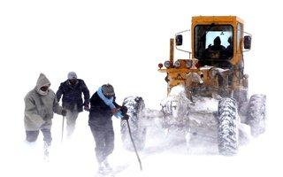 Erzurum'a kar geliyor, hava sıcaklığı düşüyor...