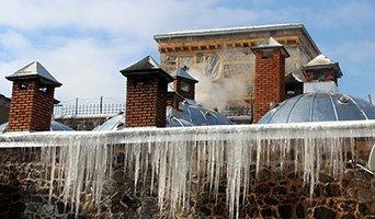 Erzurum'da kar yok ama soğuk var
