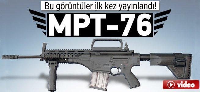 Yerli yapım MPT-76 ilk defa uluslararası tatbikatta!