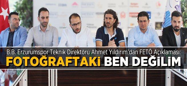 Teknik Direktörü Ahmet Yıldırım'dan Açıklama