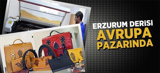 Erzurum Derisi Avrupa Pazarında