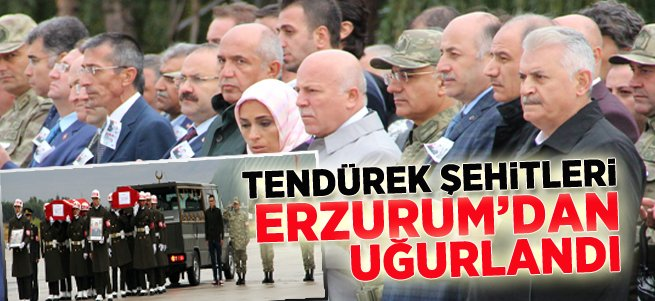 Başbakan Binali Yıldırım Erzurum'da