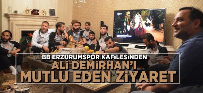 Başkan Demirhan'a vefa ziyareti