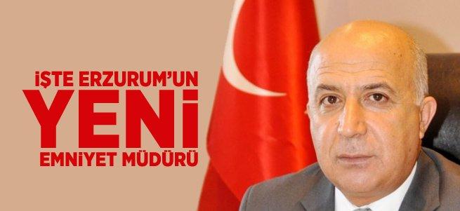 Erzurum Emniyet Müdürü Mehmet Aslan Oldu
