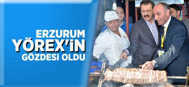 Erzurum YÖREX'in gözdesi oldu