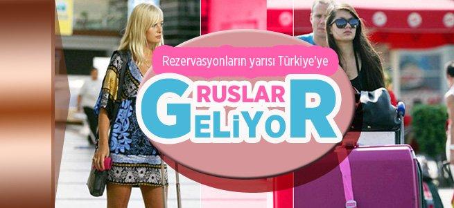 Rusya'daki erken rezervasyonların yarısı Türkiye'ye ait