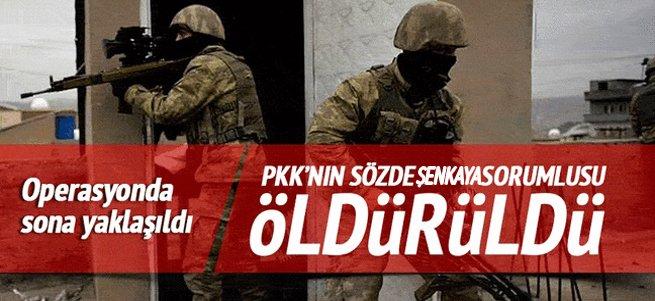 PKK'nın sözde Şenkaya sorumlusu öldürüldü