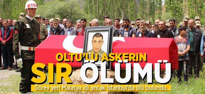 Oltulu Asker İstanbul'da Ölü Bulundu!