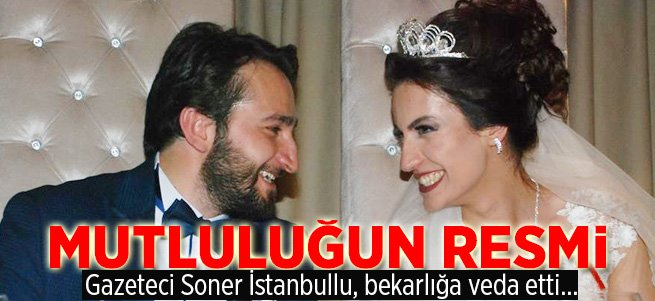 Gazeteci Soner İstanbullu, bekarlığa veda etti...