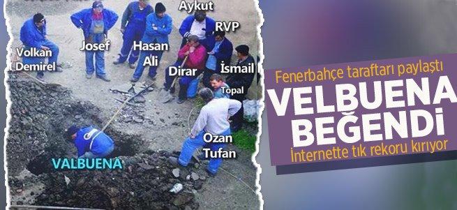 Fenerbahçe taraftarından Valbuena paylaşımı
