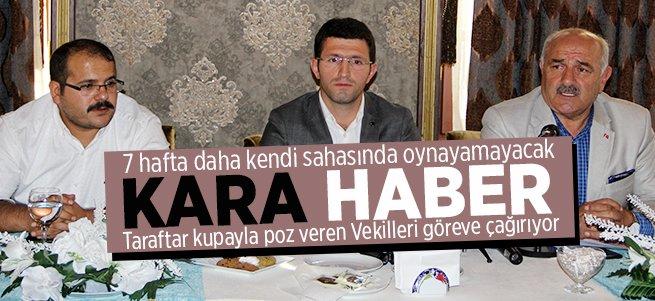 BB Erzurumspor'a Kara Haber!