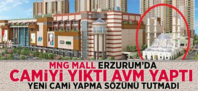 MNG Mall Yıktığı Cami'nin Yerine Yenisini Yapmadılar