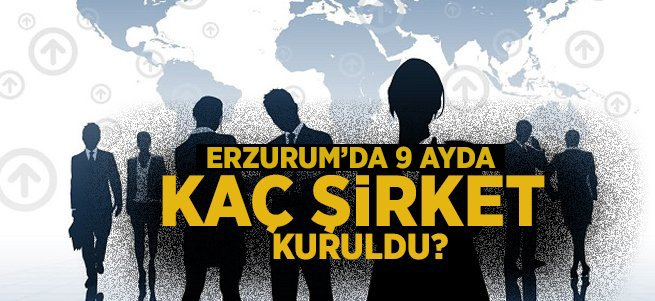 Erzurum'da 9 ayda 160 şirket kuruldu