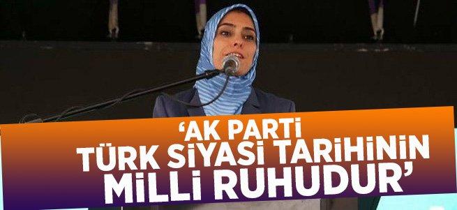 """Ak parti; Türk siyasi tarihinin milli ruhudur"""