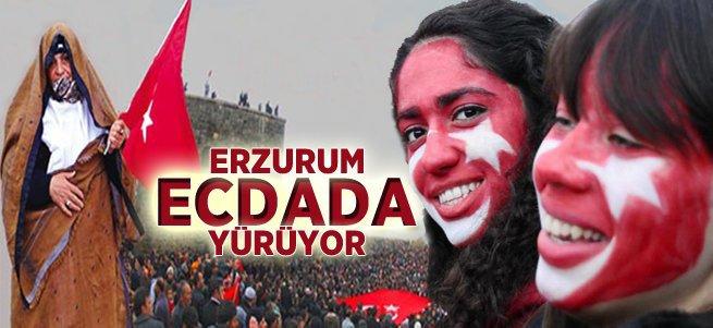 Erzurum 11 Kasım'da Tabyalara yürüyor