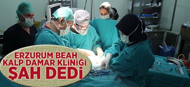 Erzurum BEAH Kalp Damar Kliniği Şah Dedi