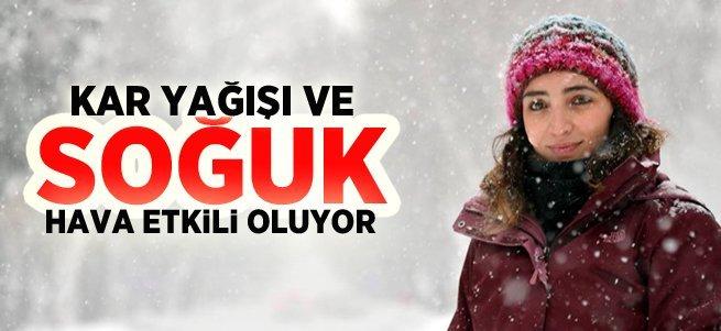 Erzurum, Türkiye'nin en soğuk ili oldu...