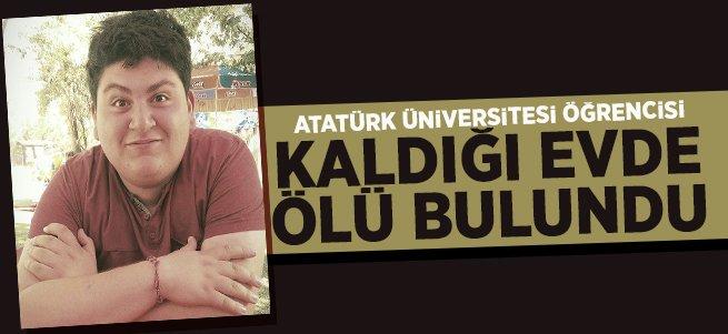 Üniversite öğrencisi kaldığı evde ölü bulundu