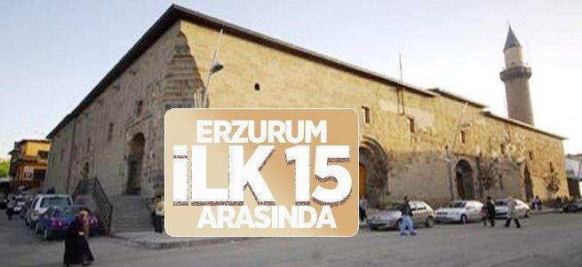 Erzurum İlk 15 Arasında