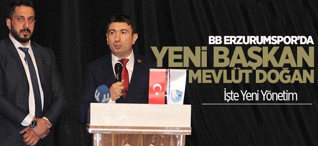 BB. Erzurumspor'un Yeni Başkan'ı Seçildi