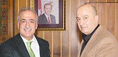 Zekai Paşa'dan Rektör Çomaklı'ya Ziyaret