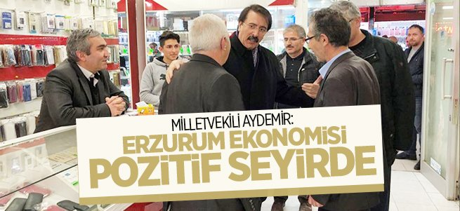 Aydemir, il ekonomisini değerlendirdi...