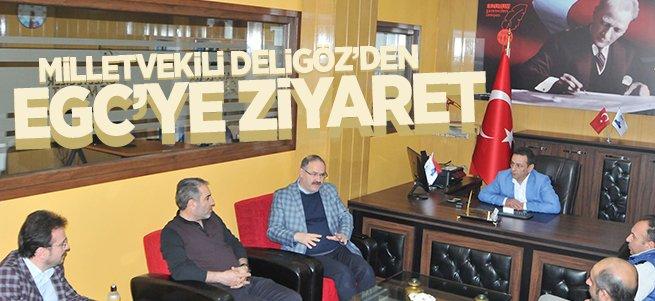 Milletvekili Deligöz'den EGC'ye Ziyaret