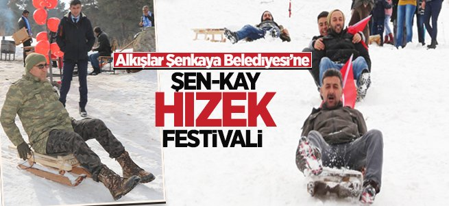 """Şenkaya'da """"Şen-Kay Hızek Festivali"""""""