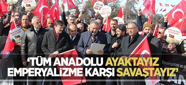 Erzurum'dan TSK'ya Afrin desteği