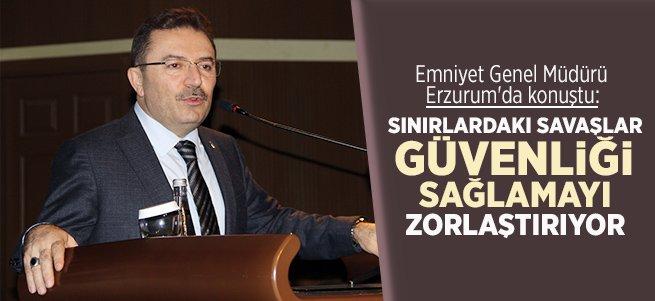 Selami Altınok Erzurum'da konuştu