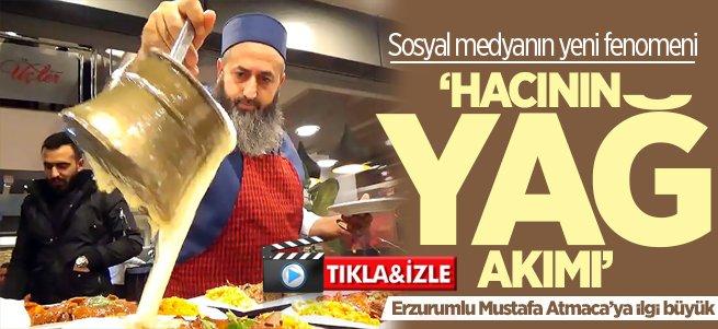Sosyal medyanın yeni fenomeni Erzurumlu Hacı!