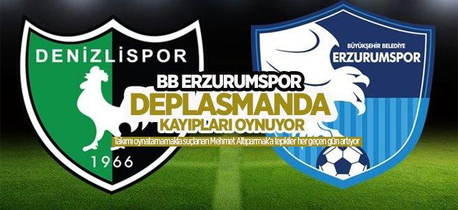 BB Erzurumspor deplasmanda kayıp