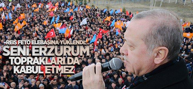 Erdoğan kendisini bekleyen Dadaşlara hitap etti