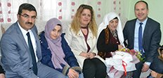 ASP İl Müdürlüğü'nden yaşlılara ziyaret