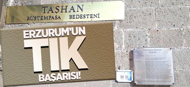 Erzurum'un tarihi tıklanmada 6. sırada