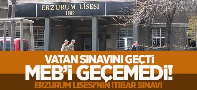 Erzurum Lisesi'nin İtibar Sınavı!