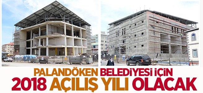Palandöken Belediyesi için açılış yılı olacak