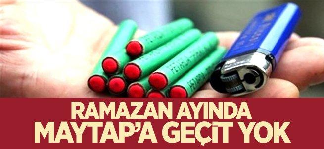 Erzurum'da Ramazan'da Maytap'a geçit yok