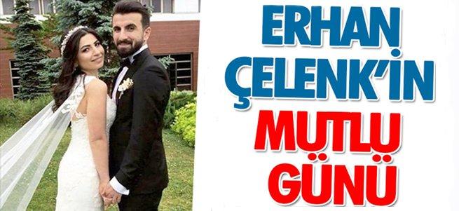 Erhan Çelenk evlendi